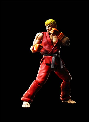 Bandai - Ken Masters Street Fighter Figuarts No.07, BDISF238942 6