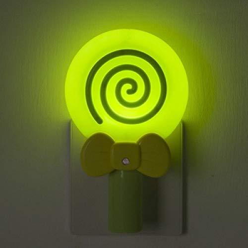 Neues Lutscher-Kontrolllicht-Nachtlicht-Logo fertigte praktisches anschließen grünes Nachtlicht 145 * 90 * 55Mm besonders an (Grünen Und Die Roten Lutscher)