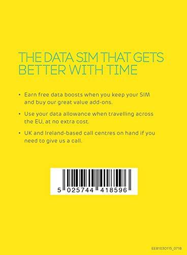 EE 300018012 PAYG G MBB 20 GB SIM Card
