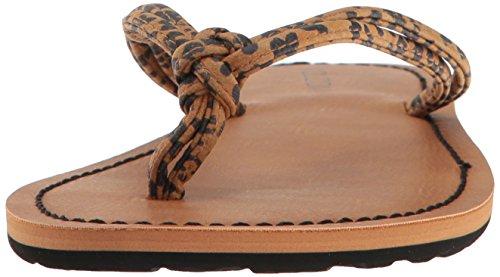 Sandalo Donna Volcom Forever 3 Cheetah Marrone