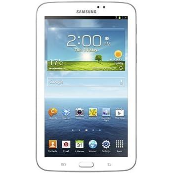 Samsung Galaxy Tab 3 17,8 cm (7 Zoll) Tablet ( 1,2GHz, Dual-Core, 1GB RAM, 8GB interner Speicher, WiFi,3 Megapixel Kamera, Android 4.1) weiß
