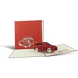 Karte zum 18. Geburtstag, Glückwunschkarte oder Gutschein für Führerschein, Geburtstagskarten, Glückwunschkarten, Karte Geburtstag, Glückwunsch Karte, Geschenkkarte, Auto Gutschein, T07