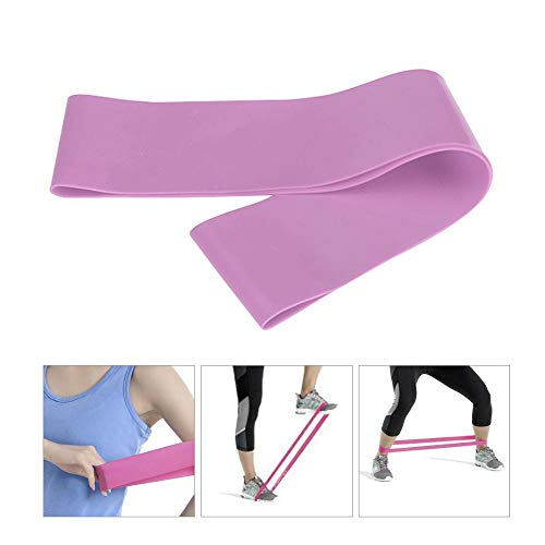 HAMKAW TPE Non Slip Hip Circle Exercise Resistance Bands for Legs and Butt for Workout (Purple)