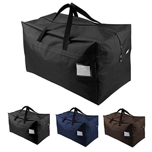 Jumbo Größe wasserdicht Aufbewahrungsbeutel für Garage/Dachboden/Regale, 100L Fassungsvermögen für saisonale Bettdecken, Kissen, decken Lagerung, beste Wahl für zu Hause bewegen