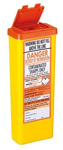 sharpsguard-arancione-05-litri-sharps-bin-con-valvola-di-non-ritorno