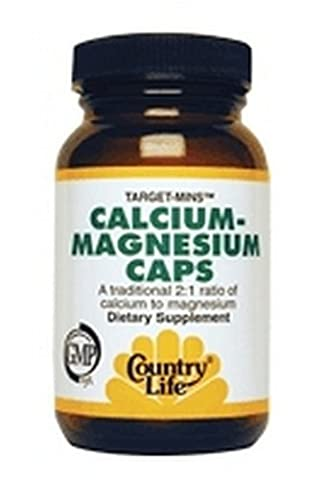 Country Life Cal-Mag Veg Capsules, 120 Capsules by Country Life