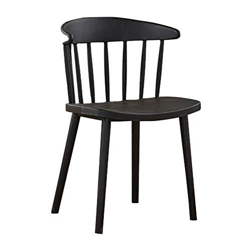 JIUBADENG Stuhlplastikmultifunktions-Erwachsenentreffenaktivität, die modernen minimalistischen...