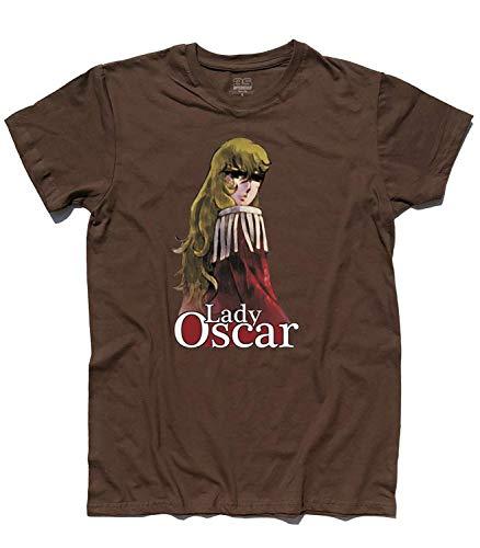 3stylershop T-Shirt Herren Lady Oscar - Kartons 80er Jahre ' - Schokolade, S