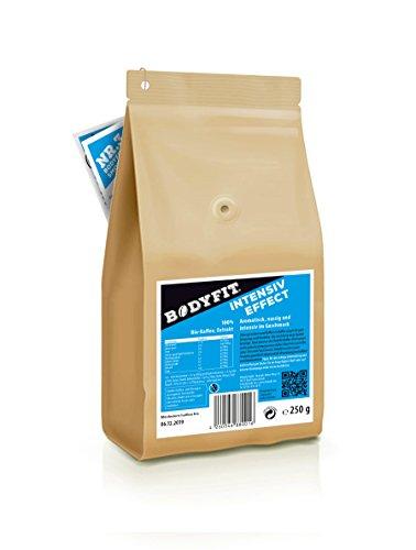 Bodyfit Intensiv, grüner Kaffee, Extrakt Aus 100% BIO, Vegan & Fairtrade Rohkaffee, Green coffee bean, hergestellt in der Schweiz, Bio Zertifiziert: DE- ÖKO- 006