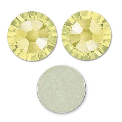 Strass à coller en cristal Swarovski 1,8 mm Jonquil x36