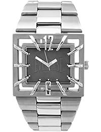 Everlast hombre-reloj analógico de cuarzo de acero inoxidable 49-0051-GR