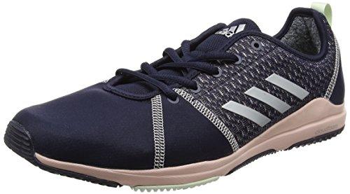 Adidas Damen Arianna Cloudfoam Hallenschuhe Blau (leggenda Inchiostro / Argento Metallizzato / Rosa Ghiaccio)