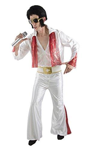 P 'Tit Clown 66751-Erwachsene Rock Star Kostüm-EINE Größe (Rock Star Kostüm Für Erwachsene)