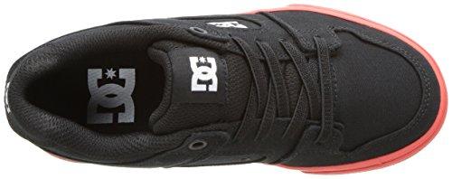 DC Kids Pure Elastic TX Sneaker Black/Red