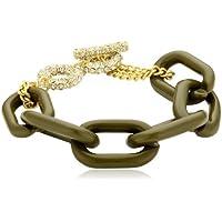 Sweet Deluxe Damen-Armband Kayla gold/grün Messing 1817