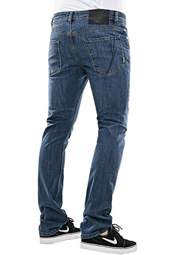 Herren Jeans Hose REELL Skin Stretch Jeans MidBlue2MidBlue2