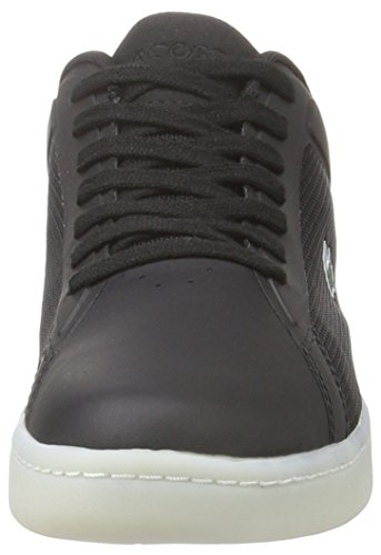 Lacoste Herren Endliner 416 1 Low-Top Schwarz (Blk 024)