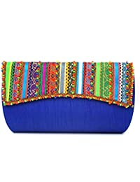 Lukas Designer Hand Wallet For Women/Silk Material/Zipper Wallet/Premium Quality Clutch For Women Multi Color