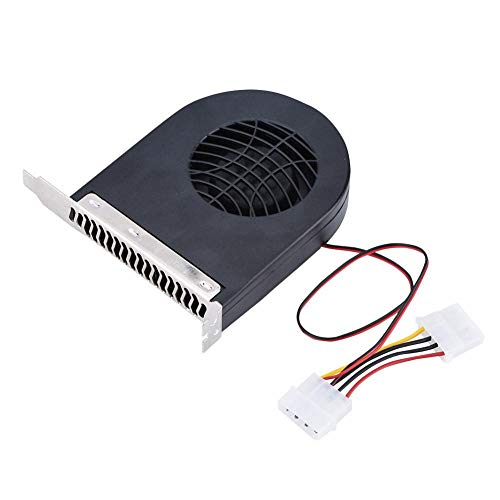 Diyeeni Mini-CPU-Kühlersystem, PCI-Steckplatz-Lüfter, CPU-Gehäuselüfter, Neue PCI-Lüfter für Computer