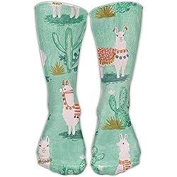 LLAMAS Y CACTUS. Calcetines cortos