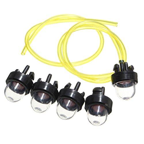 GOZAR 5X Snap in Primer Birnen mit 2St Pumpe Fuel Line Für Echo Poulan Ryobi 683974 -