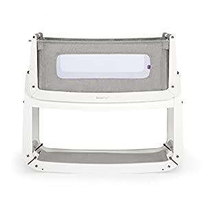 SnuzPod 3 Bedside Crib - Dusk Grey Children's Beds Home Bed with barriers internal dimensions: 140x70x160, 160x80x160, 180x80x160, 180x90x160, 200x90x160. External dimensions: 147x77x160, 167x87x160, 187x87x160, 187x97x160, 207x97x160 Bunk Bed with access from the - Front (D-1), Universal bed entrance - left or right side. 4