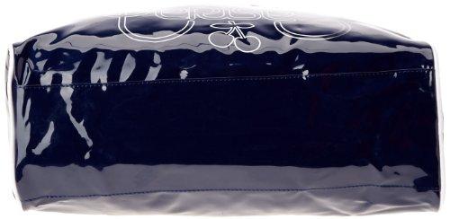 Le Temps des Cerises Rumba Bi-Color 7, Borsa a mano donna multicolore (Multicolore (Bleu/Blanc))