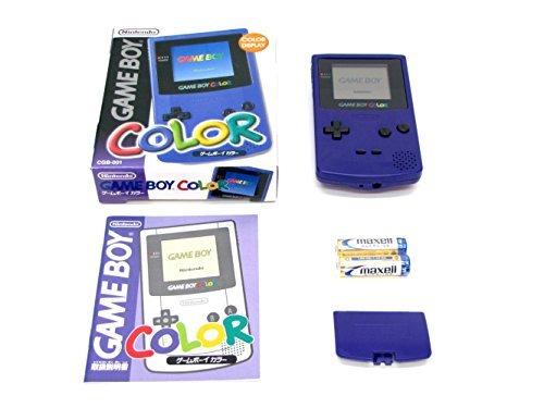 Console Game Boy Color -Violette d'occasion  Livré partout en Belgique