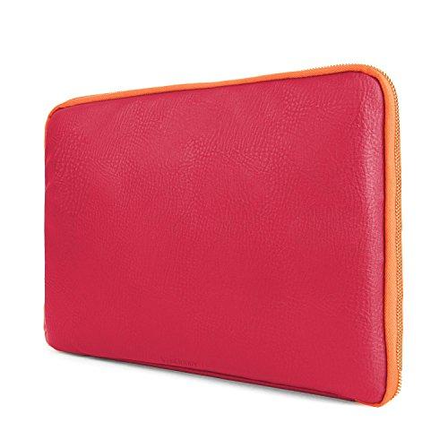 VanGoddy AD_RDYLEA774_117 Schutzhülle, 39,6 cm / 15,6 Zoll, Magenta & Orange