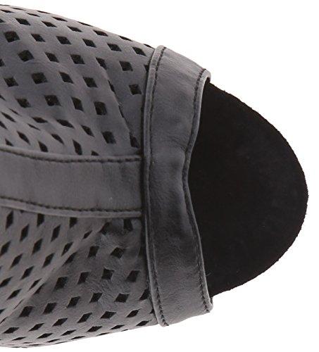 Pleaser Delight de 1011Femme Plateau Booties Blk Faux Leather/Blk Matte