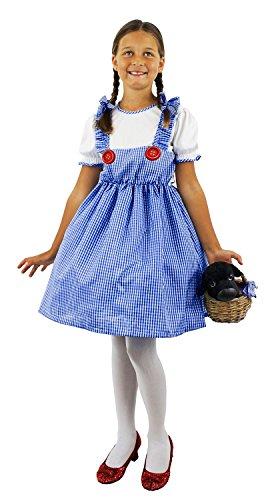 I love Fancy Dress ilfd7012m Kansas Mädchen Kostüm (Kostüme Kinder Kansas Mädchen)