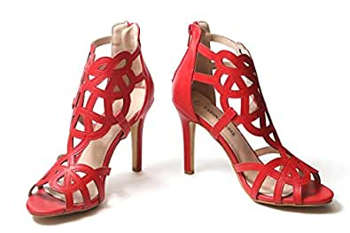 Eaton And Burke Womens Sandal Red