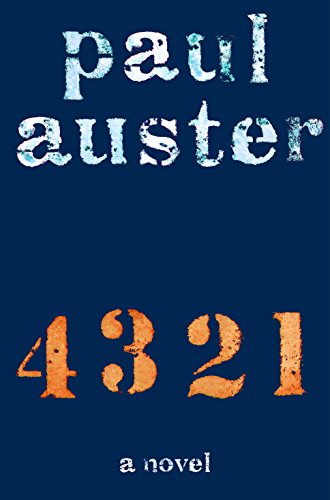 4 3 2 1: A Novel (English Edition) por Paul Auster