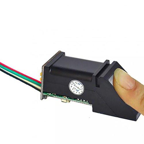MagiDeal Optischer Fingerabdruckleser Sensor Modul Sensoren All-in-One Für Arduino Lock (Fingerabdruck-leser-software)