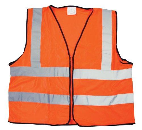 fluoreszierendes Orange Reflektierende bib-vest Biker-bib