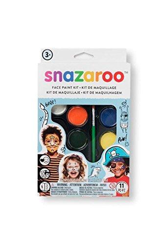 Snazaroo Adventure 8 Piece Colour Face Paint Kit Fancy Dress Accessory