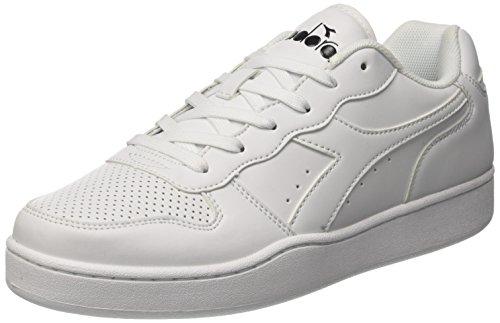 Diadora Playground, Sneaker Uomo, Bianco, 43 EU