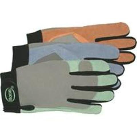 Damen Guard Split Leder Palm Lycra Rückseite Handschuh