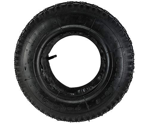 Iso Trade Reifen mit Schlauch für Schubkarre 4,80-4.00-8 Kfz-Ventil Belastbar bis 210kg #6250 -