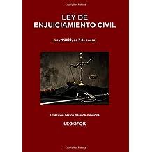 Ley de Enjuiciamiento Civil: 7.ª edición (septiembre 2018). Colección Textos Básicos Jurídicos