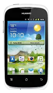 Huawei Ascend Y201 Smartphone (8,9 cm (3,5 Zoll) Touchscreen, 3,2 Megapixel Kamera, 4GB Speicher, Android 2.3) weiß