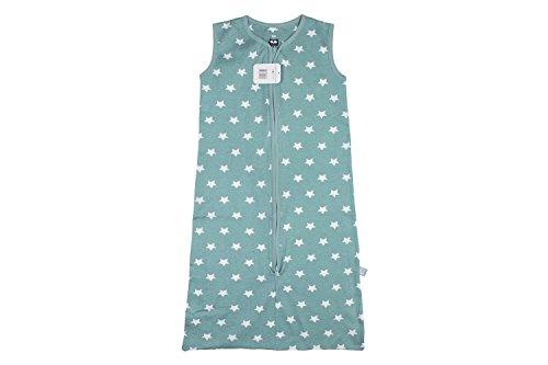 Briljant baby, Sommer Schlafsack 90 mit Reißverschluss, Thijs, Interlock qualität, jade