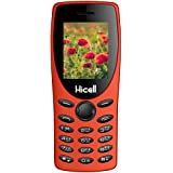 Hicell C1 Tiger : Dual Sim, Multimedia Mobile With 1.8 Inch Display, 1050 MAH Battery, FM Radio , Bluetooth, Torch, Digital Camera, SOS, Expandable Upto 16GB, BIS Certified And 1 Year Warranty (Orange )