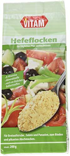 VITAM Hefeflocken salzfrei, 3er Pack (3 x 200 g) -