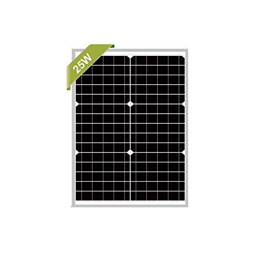 Newpowa Mono-Solarmodul, 25 W, 12 V, Mono-Solarmodul, 20 W, 25 W, 30 W, RV, Boot, Off-Gitter