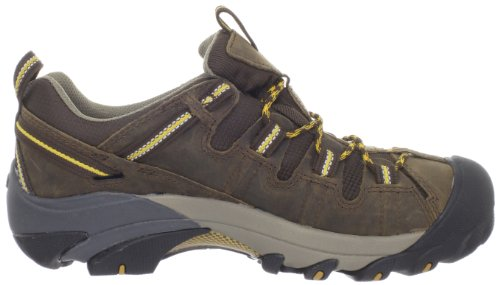 Keen - Scarpe da camminata, uomo, colore: Marrone Cascade Brown/Golden Yellow