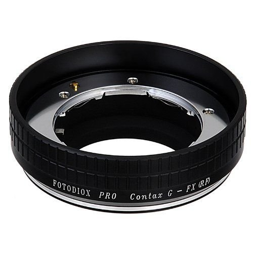 Fotodiox Pro Adattatore per lenti Contax G per fotocamera Fujifilm