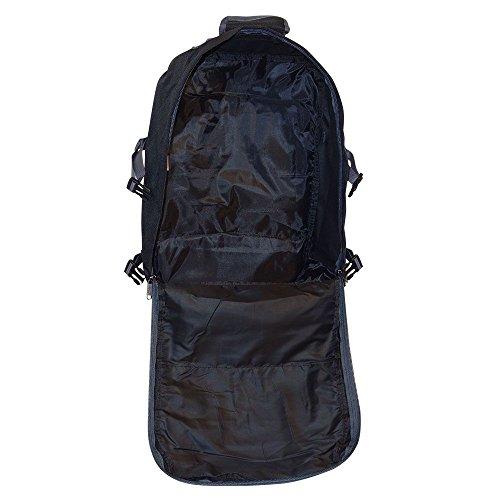 Cabin Max Metz zusätzlichen Flug genehmigten Handgepäck Rucksack 55x40x20cm (schwarz/grau) schwarz/grau
