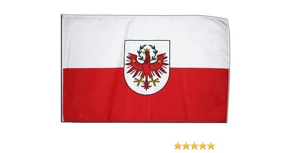Flaggenfritze Stockflagge Deutschland Th/üringen 30 x 45 cm