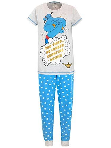 Disney - Ensemble De Pyjamas - Aladdin - Femme - Bleu - Medium